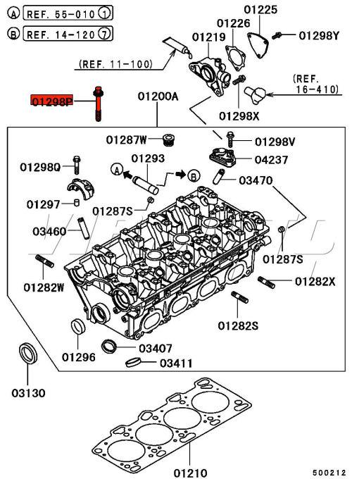 Viamoto Car Parts, Mitsubishi Lancer EVO 5 6 CP9A Parts, EVO 5 6