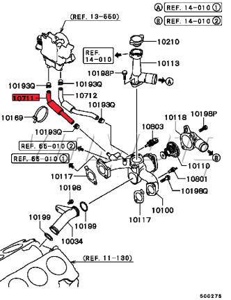 mitsubishi throttle body diagram