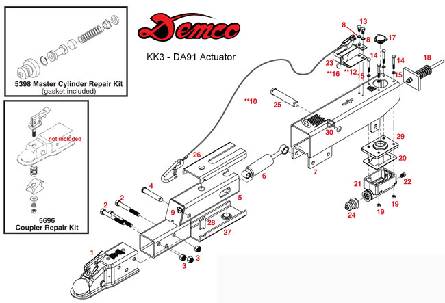 tow dolly wiring diagram