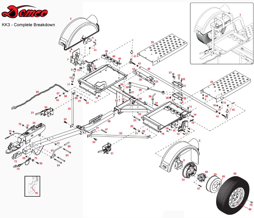 stehl tow dolly wiring diagram