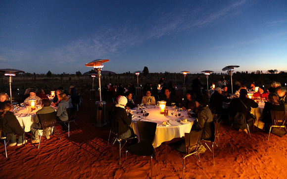 restaurant insolite dans le desert