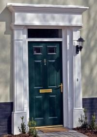 The Best Front Door Surrounds  Vibrant Doors Blog