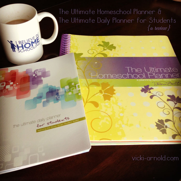 The Ultimate Homeschool Planner by Debra Bell {a review} - Simply Vicki