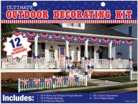 Patriotic Ultimate Outdoor Decorating Kit   4th of July ...