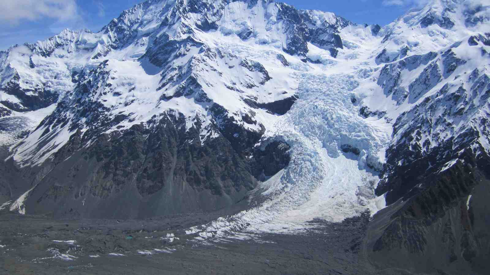 Ice Fall Wallpaper Southern Alps Glaciers In State Of Rapid Change Victoria