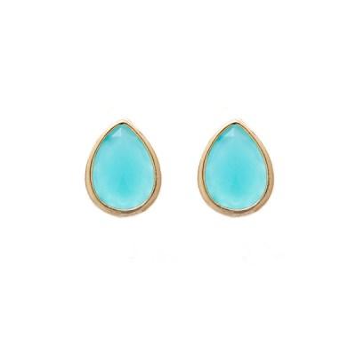 Jules Bridesmaid Earrings – Turquoise
