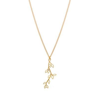 Gold Dust Trailing Vine Necklace