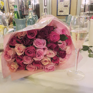M&S pink roses