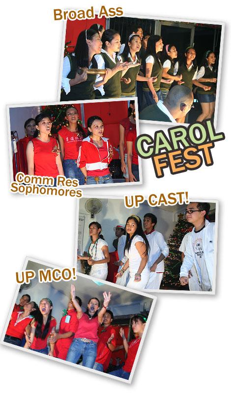 Mass Comm Carol Fest