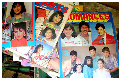 old school Pinoy entertainment tabloids