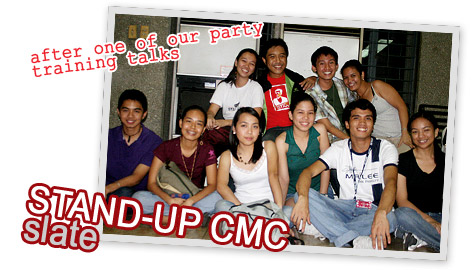 STAND-UP CMC slate of candidates