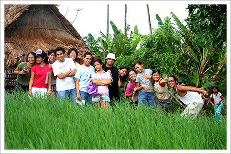 UP CAST on location at Silang, Cavite