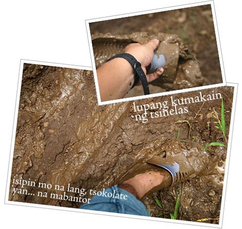 Mud, mud, mud, mud, more mud!