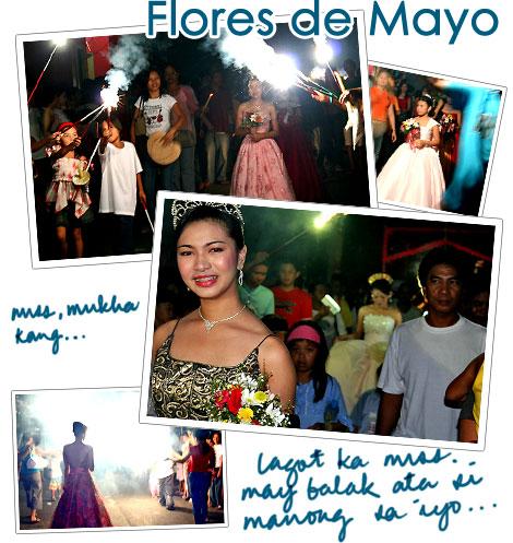 Flores de Mayo, Likod Simbahan, Poblacion, Sta. Maria, Bulacan