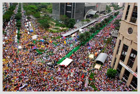 Anti-Arroyo Rally in Ayala, February 29, 2008