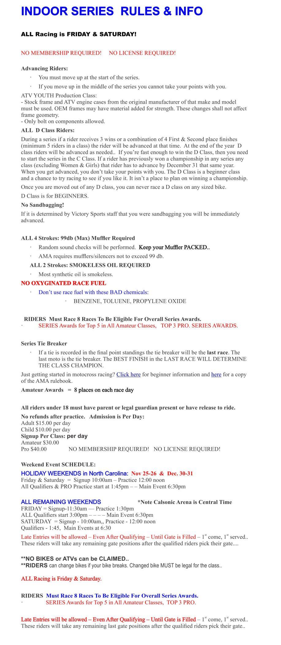 2016-17 Supplemental Rules - Info