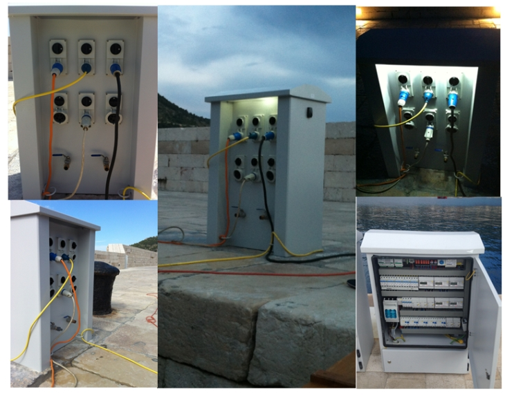Boat electrical installations combating seawater - Victron Energy