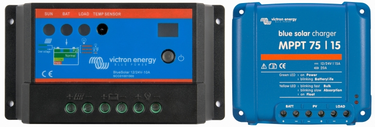 Which solar charge controller PWM or MPPT? - Victron Energy