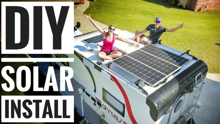 EXPLORISTlife - DIY Solar Install  Tutorial - Victron Energy