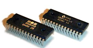 Commodore 64 SID chips