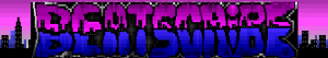 My city-scape/graffiti logo.