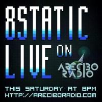 8static on Arecibo radio
