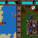 Herzog's split-screen two player mode is the grandaddy of things like Starcraft.