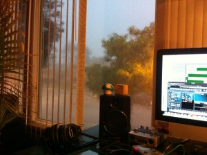 Sitting in my cozy house looking at a huge storm and 9-to-5'ers stuck in traffic makes me really happy with my choice to become a freelancer.