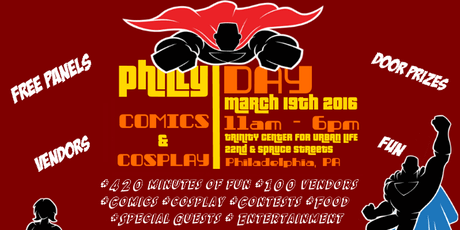 Philly Comics & Cosplay Day 2016