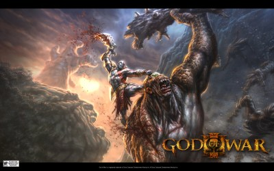 God of War 3 wallpaper