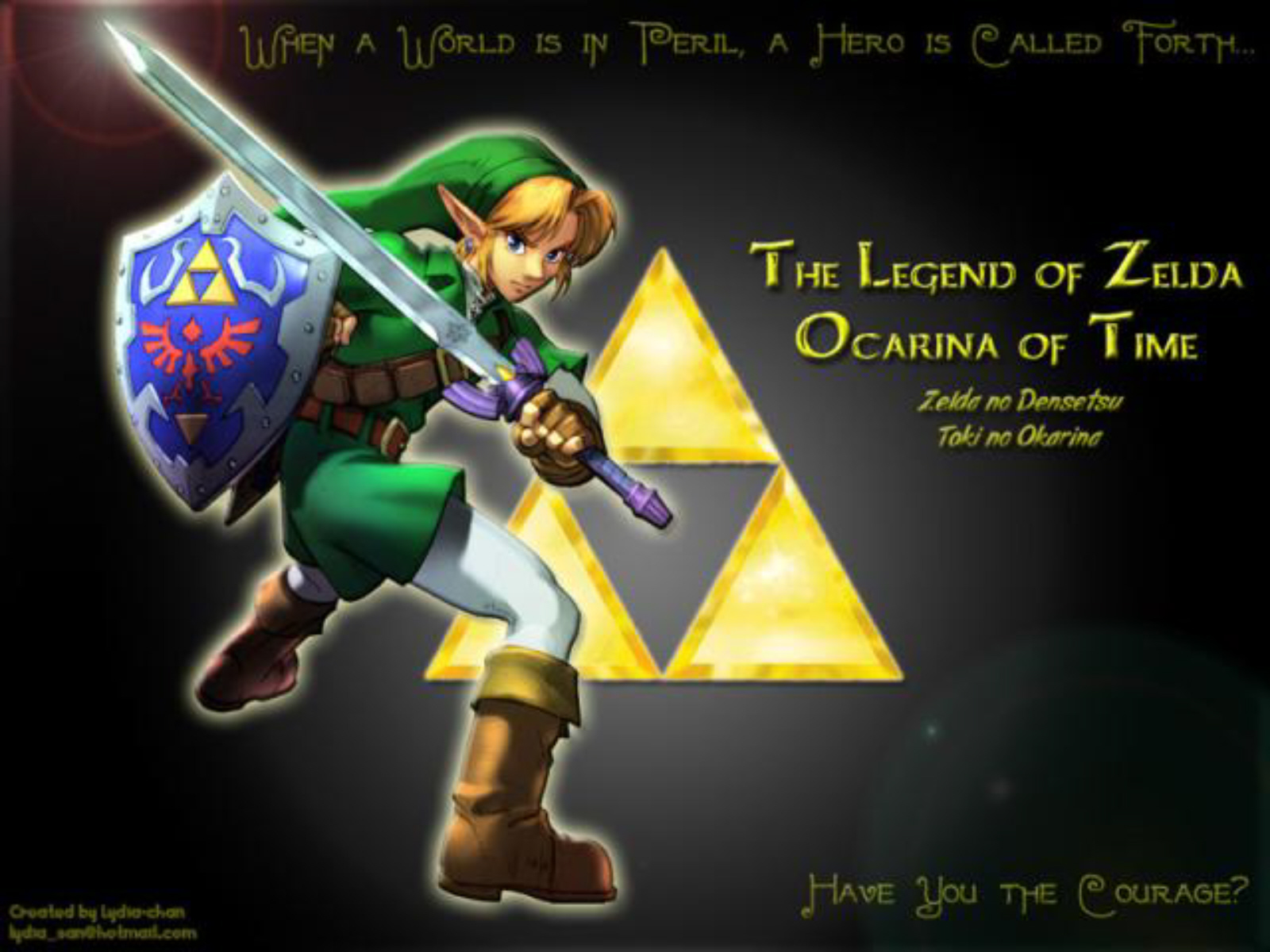 Zelda Ocarina Of Time 3d Wallpaper The Legend Of Zelda Ocarina Of Time 3d Wallpaper