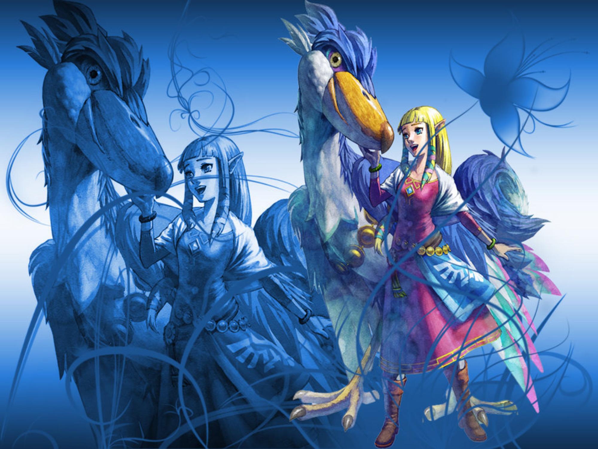 Anime Girl Epic Wallpapers Zelda Skyward Sword Wallpapers
