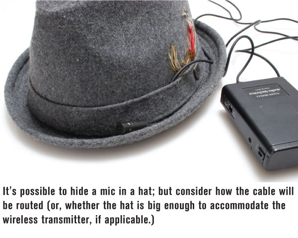 Hiding a Lavalier Mic - Videomaker
