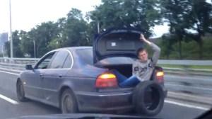 Ρυμούλκηση οχήματος στη Ρωσία