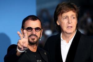 Paul e Ringo alla premiere del film