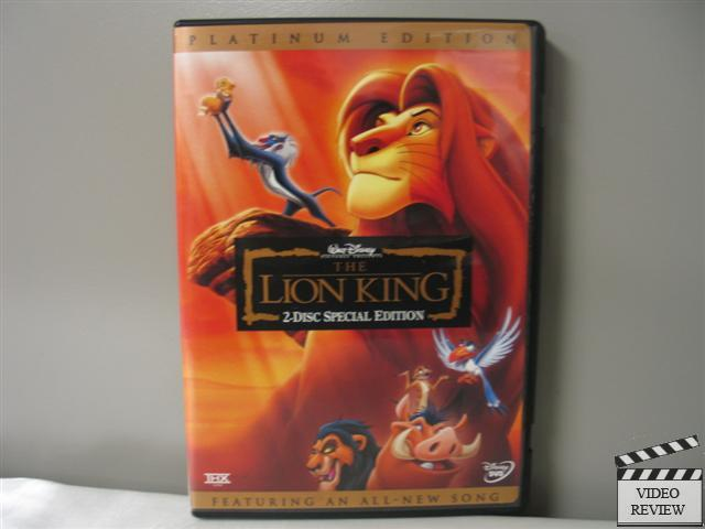 the lion king 2003 vhs review