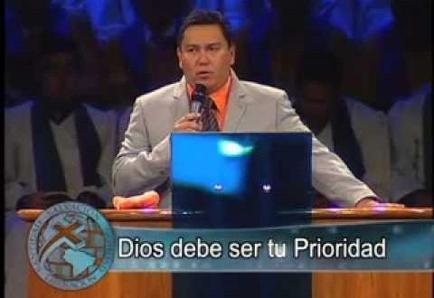 Dios debe ser tu prioridad Pastor Javier Bertucci Domingo 02 10 2011