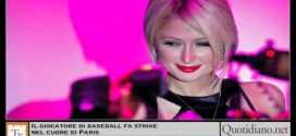 Il giocatore di baseball fa strike nel cuore di Paris