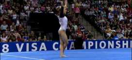 Alicia Sacramone Floor Exercise 2008 Visa Championships Women Day 2