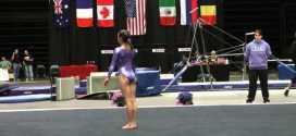 Irina Alexeeva FX Level 8 2011 WOGA CLASSIC MTS