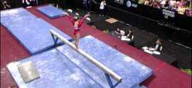 Shawn Johnson Balance Beam 2008 Olympic Trials Day 1