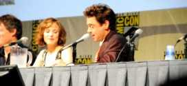 Robert Downey Jr talks about Jude Law s mustache