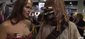 Playboy Party Girl Suzy McCoppin at Comic Con Video 2