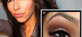 11 Kim Kardashian Brown Smokey Eye Makeup