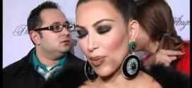Kim Kardashian at Angel Ball for cancer