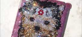 Bling Bling ICY Couture Crystal iPad Covers Yorkie