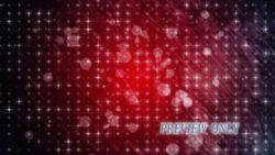 Stars And Circles: Red Motion Loop
