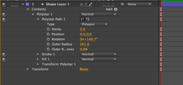 how to draw triangle in after effects 3