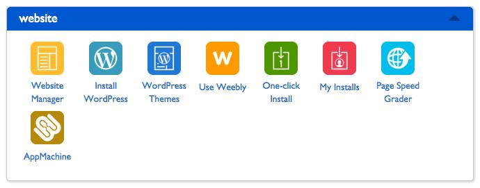 install wordpress bluehost