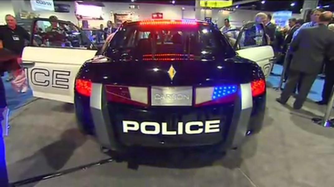carbon e7 la voiture de police d avant garde videos de police com vid os et reportages sur. Black Bedroom Furniture Sets. Home Design Ideas